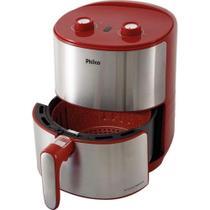 Fritadeira Air Fryer Philco PFR10VI 4L Vermelho - 127V -