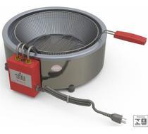 Fritadeira Batata Progás Pr70el 7l Eletrônica Tacho Fritura - Progas