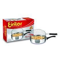Fritadeira com Grelha Eirilar Kit Fritas 2.4 litros 22cm -