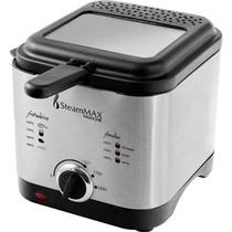 Fritadeira E Fondue Aço Inox 900w 1,2 Litros Sm-610 Steammax - Steam Max