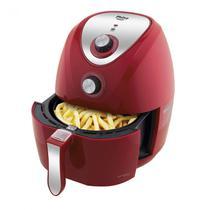 Fritadeira Elétrica Air Fry Saúde Inox 3,2 Litros Philco 220V Vermelho -