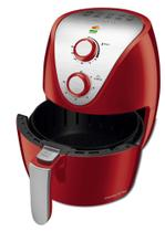 Fritadeira Elétrica Air Fryer 3,5 Litros Mondial AF32I Vermelha e Prata 127V -