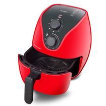 Fritadeira elétrica air fryer 4 litros ce084 vermelha 220v  multilaser -
