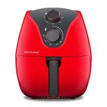 Fritadeira Elétrica Air Fryer 4 Litros Multilaser Vermelha CE084 - 220V -