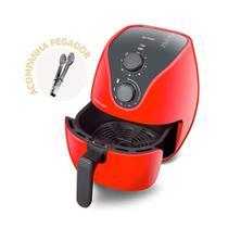 Fritadeira Elétrica Air Fryer 4L 1500W com Grade Multilaser CE083 -