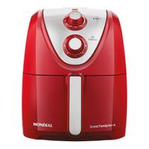 Fritadeira Elétrica Air Fryer 5L Mondial AFN50RI Vermelha 127V -