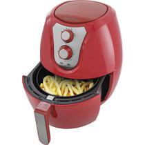 Fritadeira Elétrica Air Fryer Britânia Pro Saúde BRF32V 3,2L com Timer Vermelha 127V -