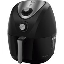 Fritadeira Elétrica Air Fryer Saúde Inox 3,2 Litros Philco 127V Preto -