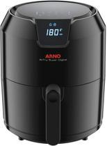 Fritadeira elétrica airfry super digital arno 1400w preta gfry 127v - arno -