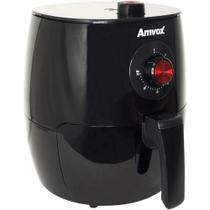Fritadeira Elétrica / AirFryer Amvox Sem óleo ARF 1201 Preto 3.5L 1270W 110V -
