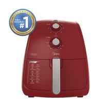 Fritadeira Elétrica Airfryer Midea 4L Vermelha -