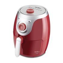 Fritadeira elétrica briânia air fry 3,5 litros bfr14v vermelho metal - 220v - Britânia