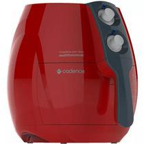 Fritadeira Eletrica Cadence Sem Oleo Perfect Fryer Colors 1250W Vermelha 110V FRT541-127 -