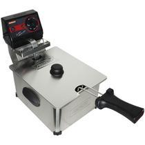 Fritadeira Elétrica com Óleo 5 Litros Industrial Profissional 220V Cotherm 2248 3000W Inox -