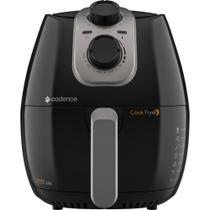Fritadeira Elétrica Cook Fryer 2.6L Preta 1250W Cadence 127V -