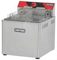 Fritadeira Elétrica de Mesa FAM-5 Croydon 13,5L Óleo / 1,5L Água 2 Cestos 5000Watts -