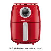 Fritadeira Elétrica Easy Fryer 127v Vermelho - Lenoxx -