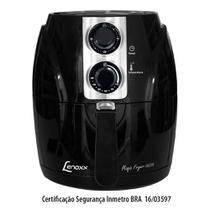 Fritadeira Elétrica Magic Fryer 2,5l Preta - Lenox -