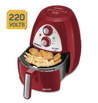 Fritadeira eletrica mondial Sem Óleo Air Fryer Inox Red Premium AF-14 4 L - Vermelho/ Inox 220V -