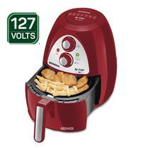 Fritadeira eletrica mondial Sem Óleo Air Fryer Inox Red Premium AF-14  - Vermelho/ Inox 110V -