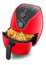Fritadeira Elétrica Mutilaser CE083 4 Litros, 1500w Vermelha 110V - Multilaser