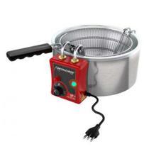 Fritadeira Elétrica Óleo Aço Inox  TFRE 3 Metalcubas -