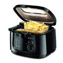 Fritadeira Elétrica Óleo Mondial Big Fry Ft-07 Preta 110v -