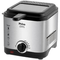 Fritadeira Elétrica Philco Deep Fry 1,8 Litros Inox 110V -