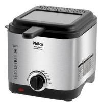 Fritadeira elétrica Philco Deep Fry Inox 1.8L prata 110V - Mondial