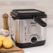 Fritadeira Elétrica Philco Deep Fry Inox 1,8l Prata -