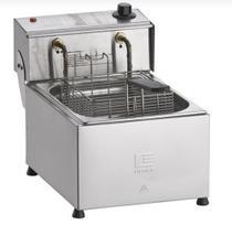 Fritadeira Elétrica Profissional 5L 1 Cesto FED-5 Fritador 127v - EDANCA -