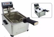 Fritadeira Elétrica Profissional Aço Inox 5 Litros 1 Cuba Cotherm -