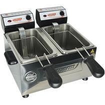 Fritadeira Elétrica Profissional Cuba Dupla 2 litros cada Cotherm -