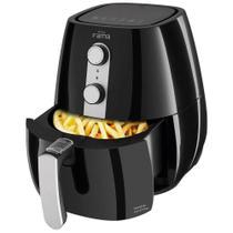 Fritadeira Elétrica Sem Óleo/Air Fryer Fama - Air Fry Preta 2,9L com Timer -