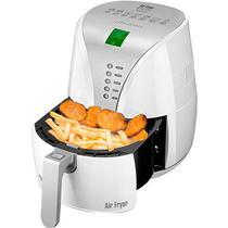 Fritadeira Elétrica Sem Óleo/Air Fryer Mondial Digital Premium AF-02 Branca 2L com Timer -