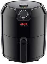 Fritadeira elétrica sem óleo airfry super 4,2 l preta 220v- arno -