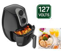 Fritadeira elétrica sem óleo Cadence Cook Fryer FRT525 2.6L preta 127V -