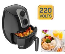 Fritadeira elétrica sem óleo Cadence Cook Fryer FRT525 2.6L preta 220v -