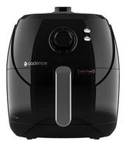 Fritadeira elétrica sem óleo Cadence Cook Fryer FRT600 5.5L preta 127V -