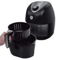 Fritadeira elétrica sem óleo family philco cor preto air free saúde - aquela fritura de uma forma saudável já é po -