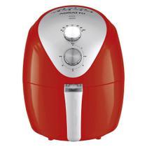Fritadeira Elétrica Sem óleo Fryer Silver 1270w 220v Afv-02 Vermelho - Agratto - Ventisol -