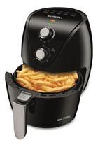 Fritadeira elétrica sem óleo mondial new pratic af-31 3.5l preta 220v -