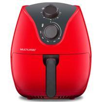 Fritadeira Elétrica sem Óleo Multilaser Air Fryer Gourmet 4 Litros Vermelha - 1500W -