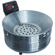 Fritadeira Elétrica Tacho com Óleo Industrial 5 Litros Pastel Salgado Alumínio 110V Cotherm 2891A -