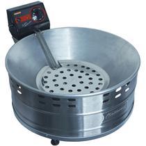 Fritadeira Elétrica Tacho com Óleo Industrial 5 Litros Pastel Salgado Alumínio Cotherm -