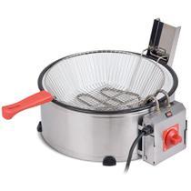 Fritadeira Elétrica Tacho Industrial Marchesoni 7,5l Inmetro -