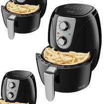 Fritadeira Elétrica Ultra Maxis Mondial AF-33 3,2 Litros Preto/Prata -