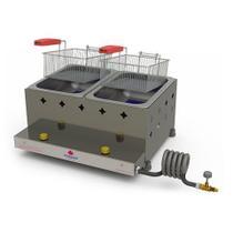 Fritadeira gas retangular 2cesto pr-20g p39379 - Progas