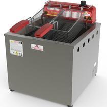 Fritadeira Industrial Óleo e Água Progás PR100E, 13 Litros - Progas