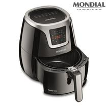 Fritadeira Mondial Air Fryer Family Digital Touch 3,2L AF-19 Preto/Prata